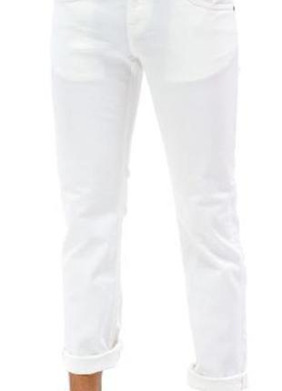 Новые с бирками джинсы белые мужские