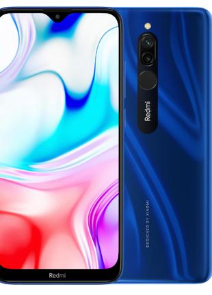 Смартфон Xiaomi Redmi 8 4/64Gb 5000mAh Blue global в наличии