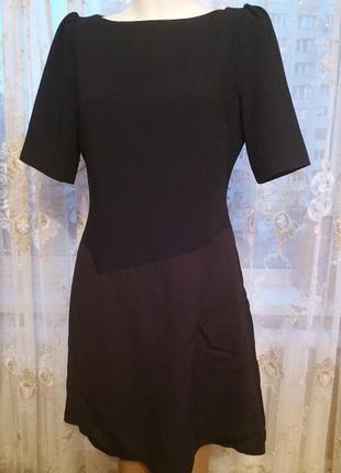 Платье темно синее 40 размер
