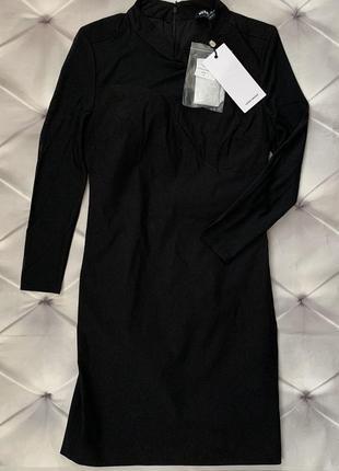 Vero moda чёрное мини платье