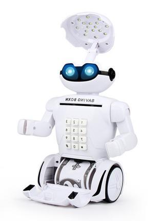 Робот копилка аккумуляторный Robot Piggy Bank
