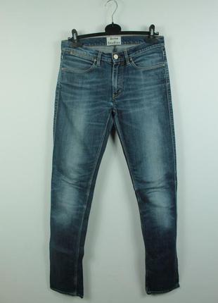 Оригинальные стильные джинсы acne studios max prince slim fit ...