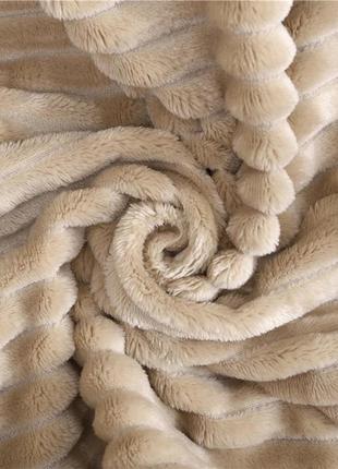 Бамбуковое покрывало плед шарпей евроразмера 200*230 см