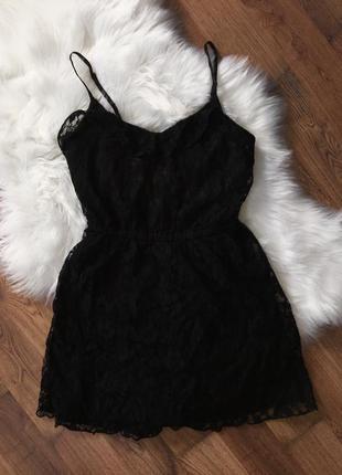 Кружевное платье, сарафан