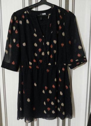 Красивая платье  туника rainbow m-l