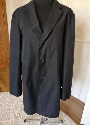 Мужская куртка ветровка плащ, большой размер 56-58.