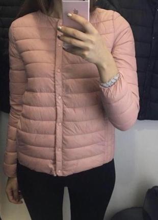 Нежно розовая куртка, курточка