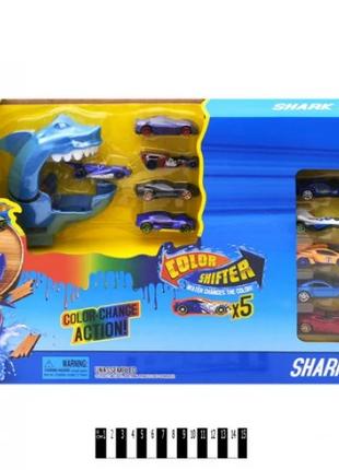 Гоночный трек Охота на акулу Автомойка Hot Wheel 6762 хот вилс