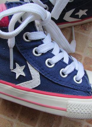 Кеды converse all star для девочки  длина по стельке 14 см