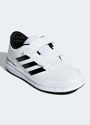 Белые кроссовки на липучках adidas р. 29,32 оригинал