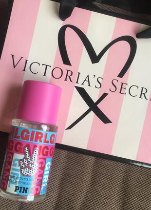 Victoria's secret pink спрей-духи с ароматом пионов виктррия с...