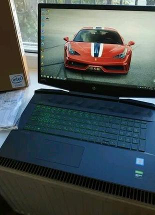 Ноутбук HP Pavilion Gaming 17 (7PY56EA) Dark Grey