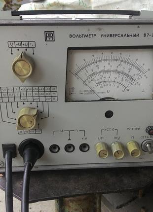 Универсальный вольтметр B7-26