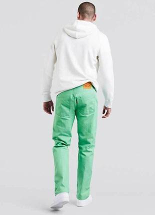 Джинсы levi's 501® shrink-to-fit™ необычного цвета