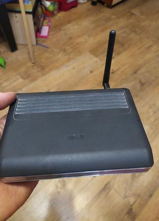 Бездротовий маршрутизатор (роутер wi-fi) ASUS WL-520gC  +