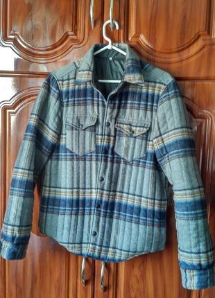 Двустороняя куртка италия made in italy