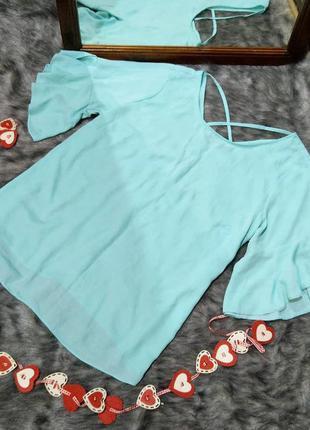 Блуза кофточка с перехлестом на спинке george