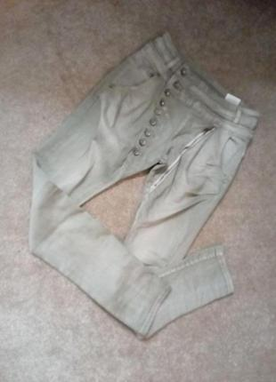 Бомбезные  джегинсы стрейч  джинсы на болтах12р   ж1