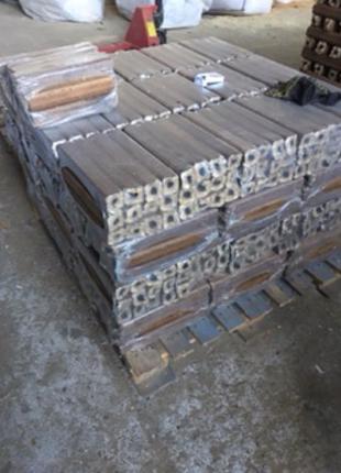 Евро дрова для мангала, камина упаковка 10 кг. доставка