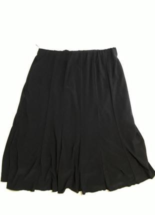 Фирменная трикотажная юбка на подкладке