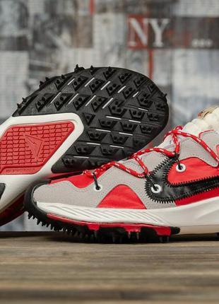 💣 кроссовки мужские 16721 ► nike air zoom, красные