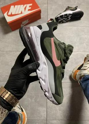 Кроссовки Nike Air Max 270 React Green.