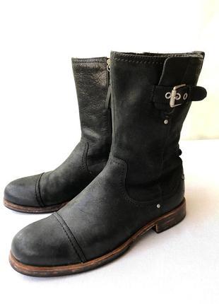 Оригинальные кожаные сапоги ugg,модель 'kern'