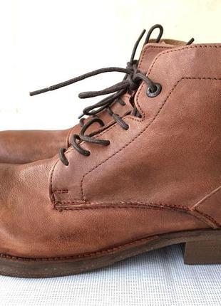 Ботинки levi's,оригинал,кожа,новые