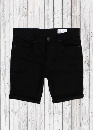 Стреичевые джинсовые шорты