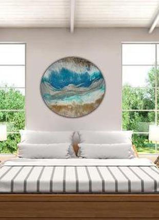 Круглая АРТ-картина для любого интерьера! +380507195318