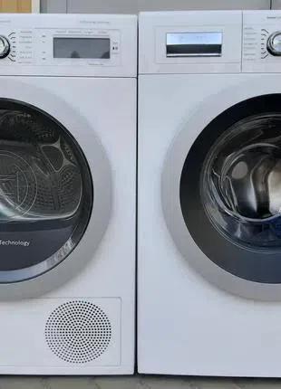 Комплект стиральная и сушильная машина Бош Bosch на 8кг А+++ 1400