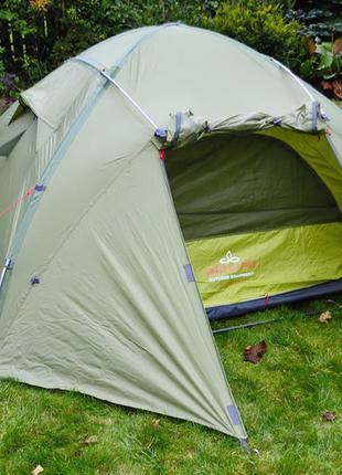 Палатка трехместная Pinguin Tornado 3 Green (PNG 123)