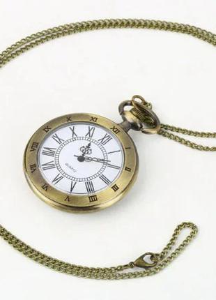 Часы карманные римские цифры кварцевые 2327-83