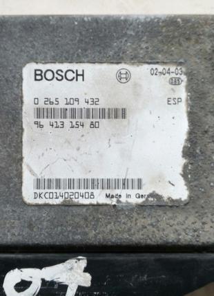 Блок управления ESP ABS Peugeot 607 0265109432  9641315480