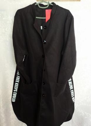 Пальто женское, демисезонное, модное.  большой размер!!!