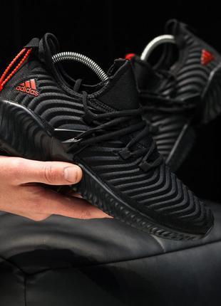 Adidas alphabounce instinct black ♦ мужские кроссовки ♦ весна ...
