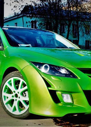 Бампер Мазда 6 GH 2007-2013 Mazda6