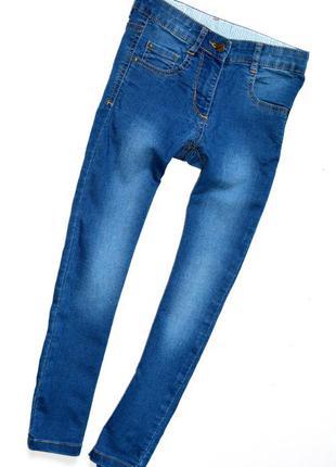Marks & spencer. джинсы скинни на 6-7 лет. рост 122 см
