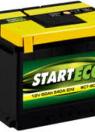 Акумуляторна батарея START ECO 6ст-60 пусковий ток 540А
