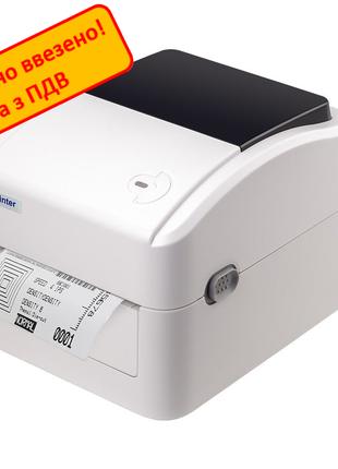 Принтер этикеток Xprinter XP-420 Для Новой Почты, Укрпочты