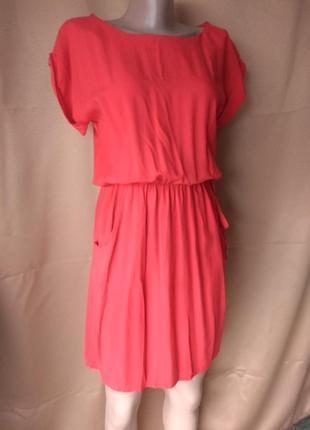 Летнее платье с штапельной ткани
