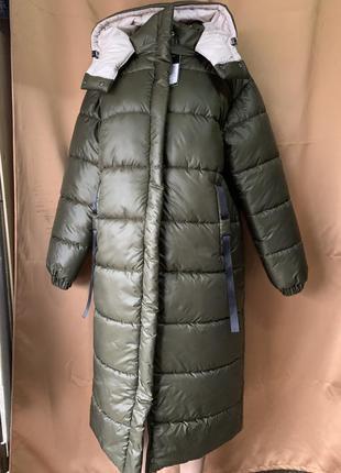 Женская зимняя куртка на холофайбере