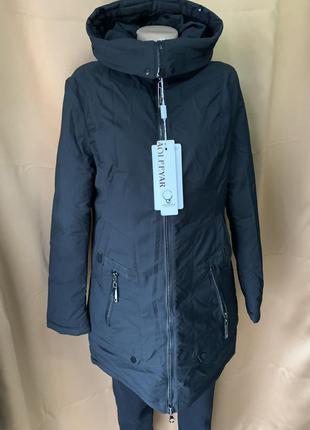 Женская зимняя куртка 54 размера