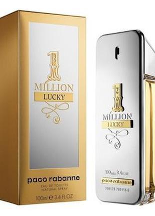 Мужские духи Paco Rabanne 1 Million Lucky 100 мл Турция Лицензия