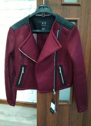Куртка косуха , ветровка армани оригинал armani exchange
