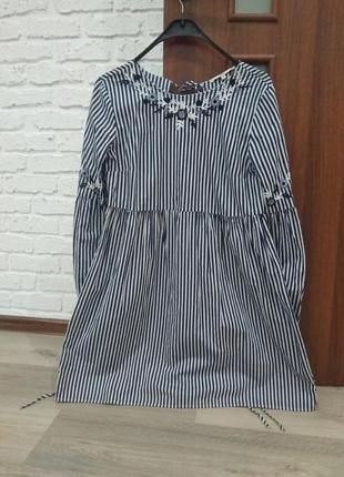 Крутое платье оверсайз clockhouse
