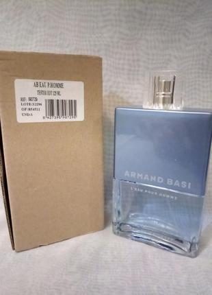 Armand basi l'eau pour homme туалетная вода (тестер с крышечкой)