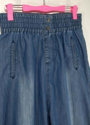 Женские джинсы на резинке размер l