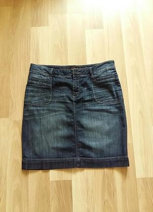 Джинсовая юбка s. oliwer