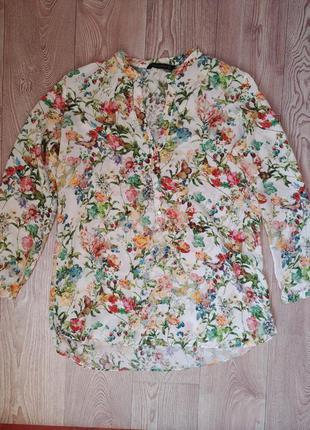 Легкая весенняя летняя блуза